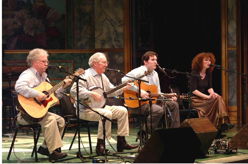 One of my favorite shows.On stage with Bobby, Finbarr and Aoife.